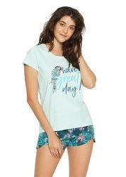Henderson  Piżama damska, krótki rękaw, krótkie spodenki  model Fruity