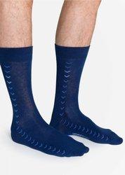 Skarpety męskie Henderson Simple niebieskie