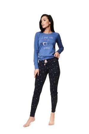 Piżama damska Henderson Zadie niebieska