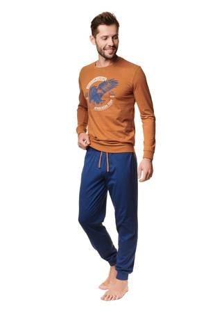 Piżama męska Henderson Atlas Pomarańczowa